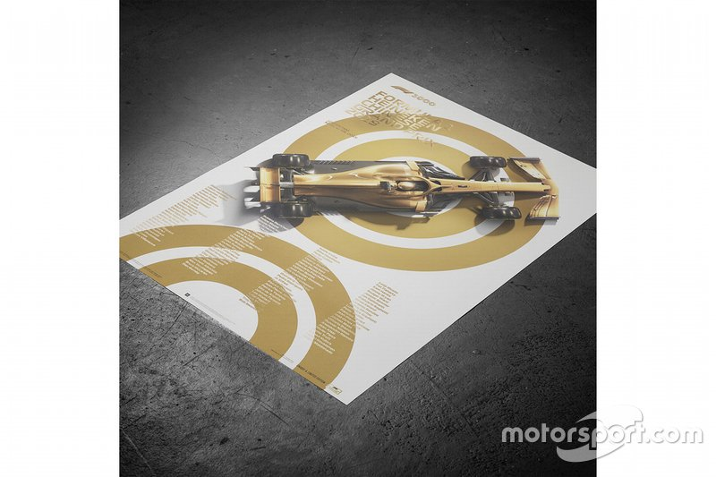 Commemorative F1 100th GP Poster
