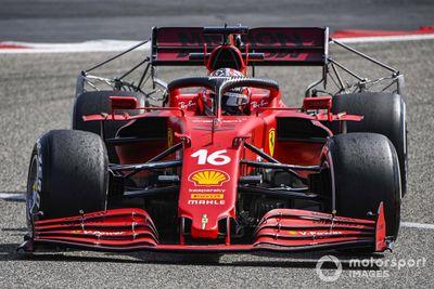 Bahrain March testing