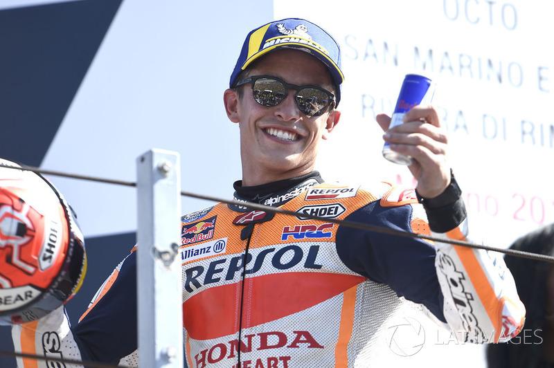 Podium kedua: Marc Marquez, Repsol Honda Team