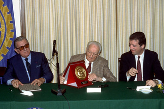 Jean Marie Balestre, Enzo Ferrari, Piero Ferrari