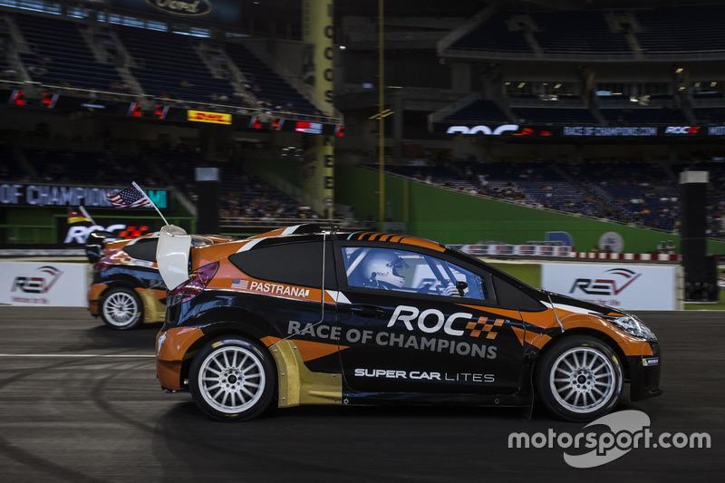 Travis Pastrana, in de RX Supercar Lite