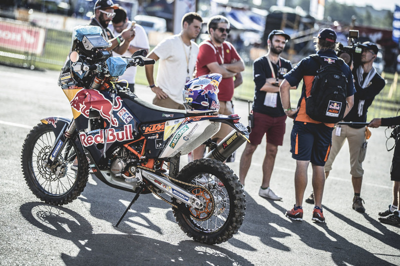 Moto del Red Bull KTM Factory Racing