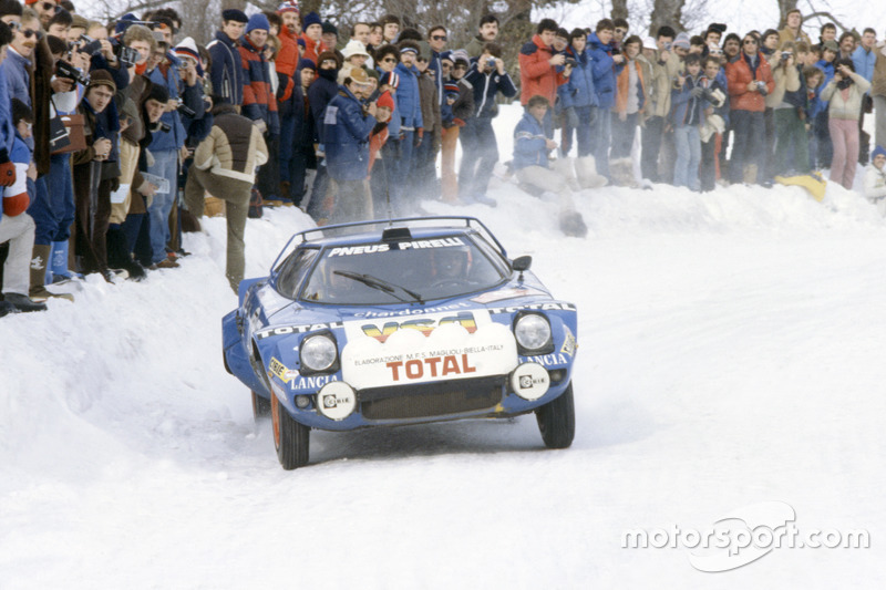 bernard darniche alain mah lancia stratos hf rallye monte carlo photos wrc. Black Bedroom Furniture Sets. Home Design Ideas