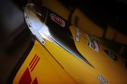 Le museau de la voiture de Ryan Hunter-Reay, Andretti Autosport Honda