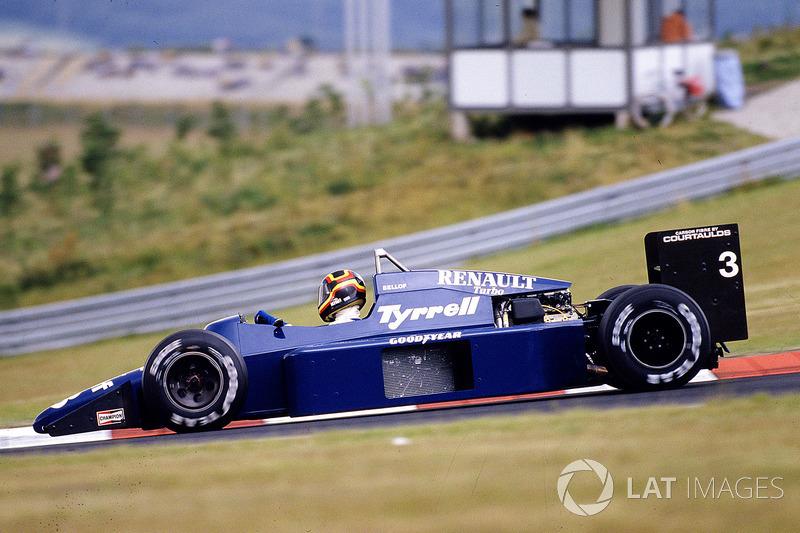 Tyrell 1985: Stefan Bellof, Tyrrell 014