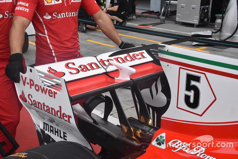 Заднее крыло Ferrari SF70H