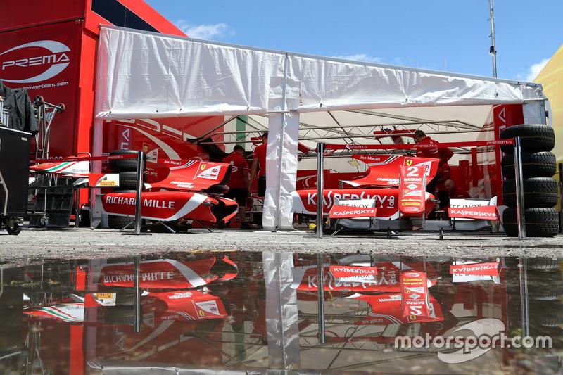 В расположении Prema Racing