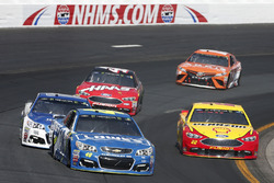 Jimmie Johnson, Hendrick Motorsports Chevrolet Joey Logano, Team Penske Ford