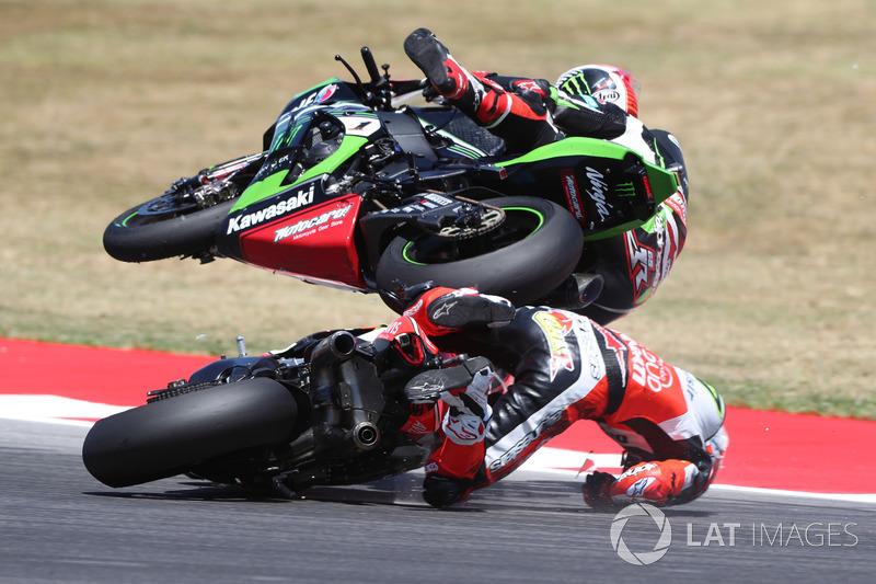 Chaz Davies, Ducati Team, Jonathan Rea, Kawasaki Racing.