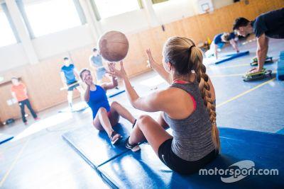 Audi Sport training camp in Oberstdorf