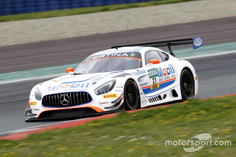 #21 Mercedes-AMG Team Zakspeed, Mercedes-AMG GT3