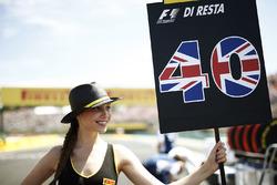 Chica de la parrilla para Paul di Resta, Williams FW40