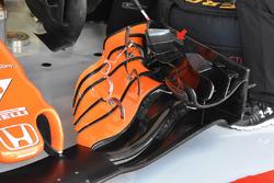 Переднее крыло McLaren MCL32