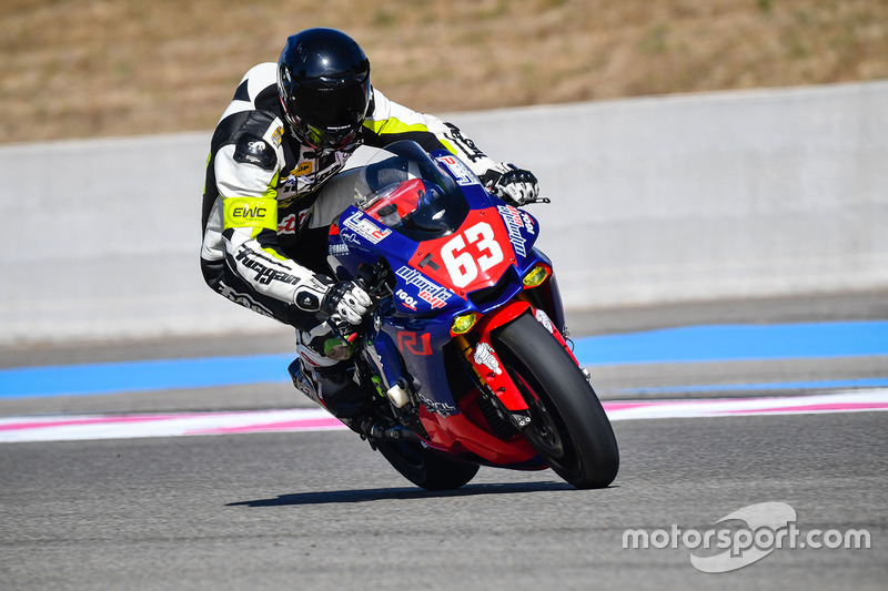 #63 LMD 63-Ultimate Cup, Yamaha: Erwann Quellet, Jean-Edouard Aubry, Mathieu Marchal