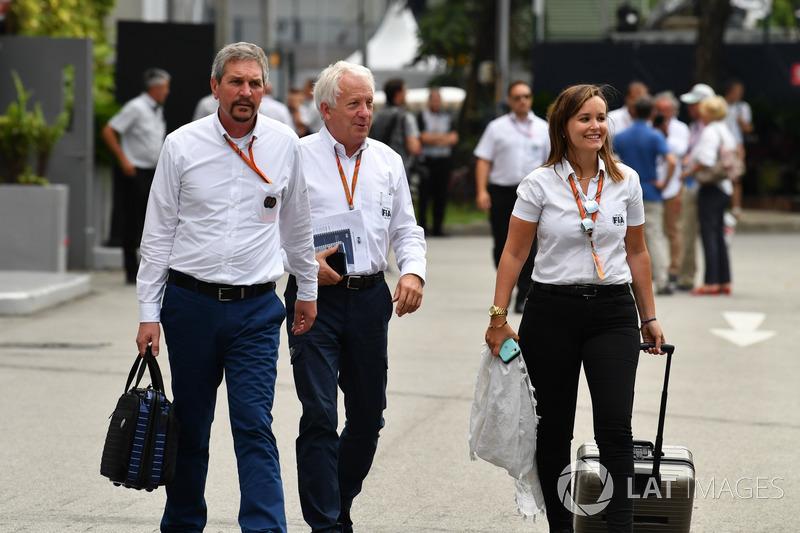 Charlie Whiting, FIA-Delegierter