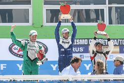 Podium: Agustin Canapino, Jet Racing Chevrolet, Julian Santero, Coiro Dole Racing Torino, Christian