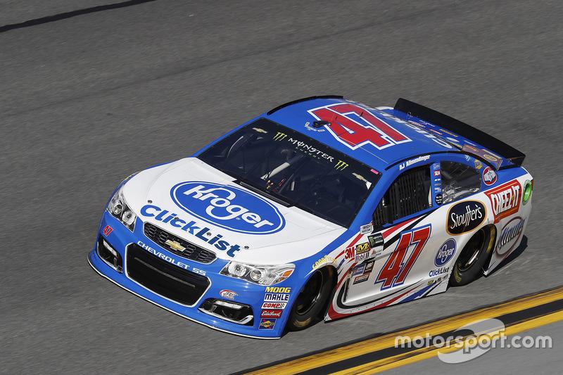 #47: A.J. Allmendinger, JTG Daugherty Racing, Chevrolet