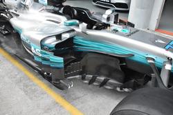 Mercedes AMG F1 W08, збоку