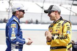 Dale Earnhardt Jr., Hendrick Motorsports, Chevrolet; Matt Kenseth, Joe Gibbs Racing, Toyota