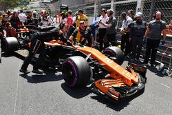 El coche de Jenson Button, McLaren MCL32