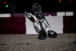 Crash; Karel Abraham, Aspar Racing Team