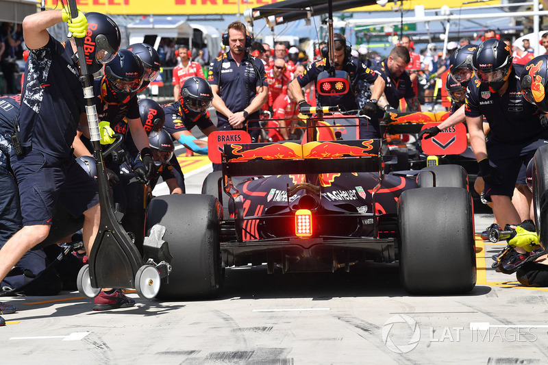 Піт-стоп Макса Ферстаппена, Red Bull Racing RB13