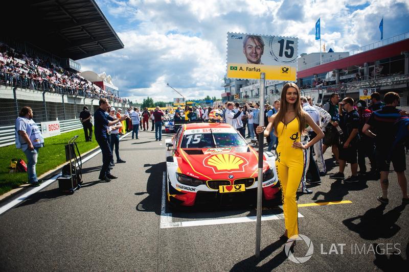 Грід-гьол для Аугусто Фарфуса, BMW Team RMG, BMW M4 DTM