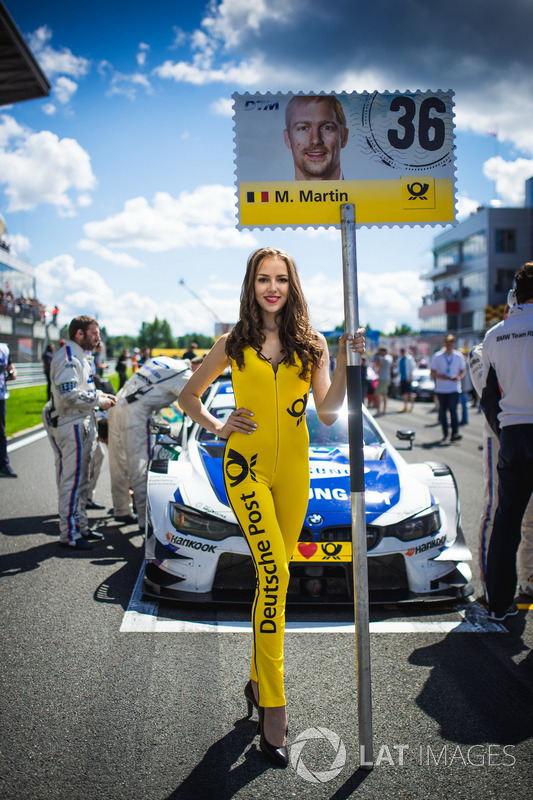 Грід-гьол Максима Мартена, BMW Team RBM, BMW M4 DTM