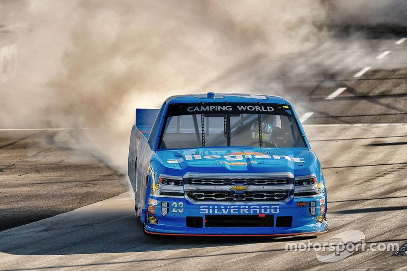 Il vincitore della gara Chase Elliott, GMS Racing Chevrolet