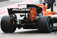 McLaren MCL32 rear wing detail