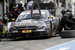 Boxenstopp: Maro Engel, Mercedes-AMG Team HWA, Mercedes-AMG C63 DTM