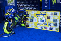 Bike des verletzten Valentino Rossi, Yamaha Factory Racing