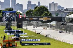 Takuma Sato, Andretti Autosport, Honda; Ryan Hunter-Reay, Andretti Autosport, Honda