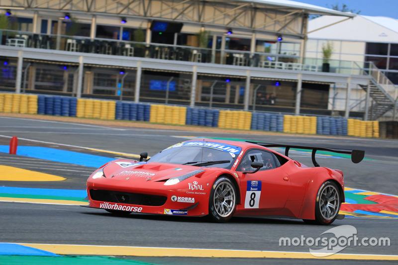 #8 Scuderia Villorba Corse Ferrari 458 Italia GT3: Cédric Mezard, Steeve Hiesse