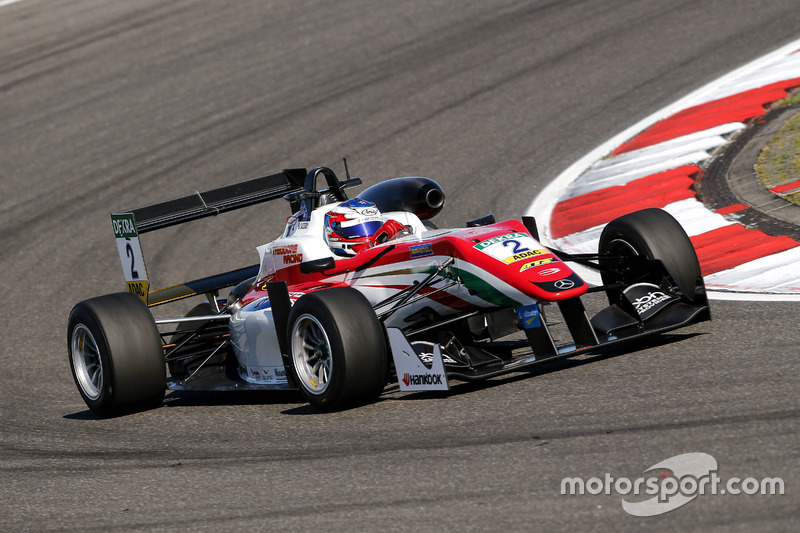 Nick Cassidy, Prema Powerteam Dallara F312 – Mercedes-Benz