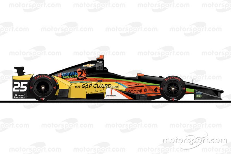 Startpositie 30: Stefan Wilson (KV-Chevrolet)