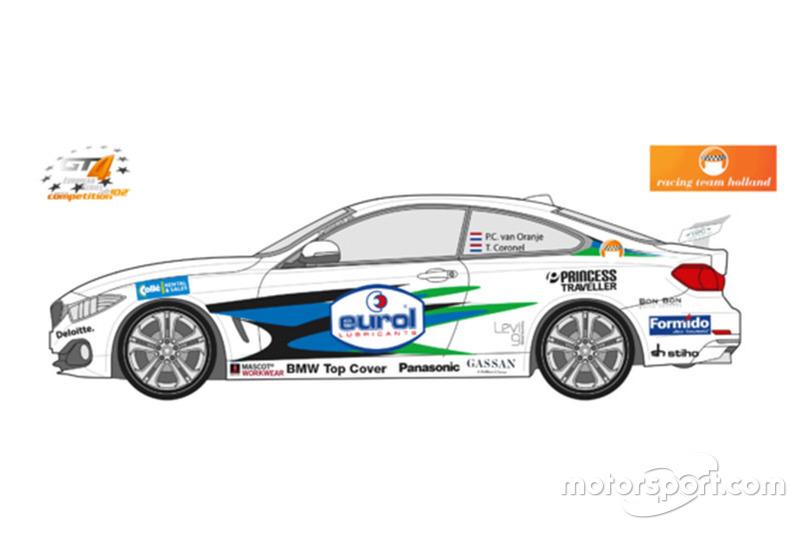 Voorstelling BMW M3 GT4 van Racing Team Holland