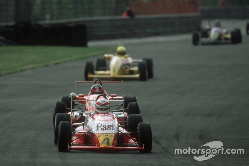 Tom Kristensen in der Deutschen Formel 3 auf dem Norisring 1991