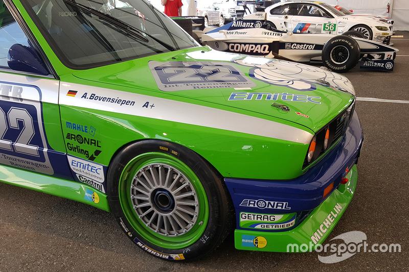 BMW M3 E30 Alpina guidata da Andreas Bovensiepen