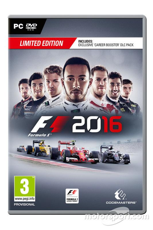 La boîte PC de F1 2016