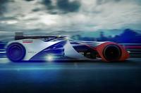 Футуристичний концепт-кар Формули Е 2018