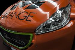 Orange1 Racing, Peugeot 208 T5 R16, cofano