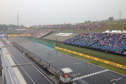 Хунгароринг под дождем