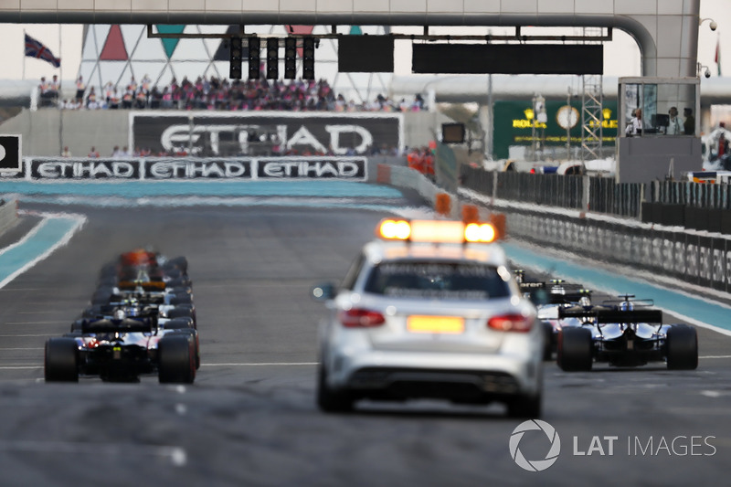Rear of the grid just before the lights go out