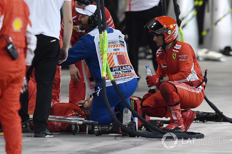 Механік Кімі Райкконена, Ferrari