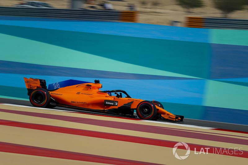 13. Фернандо Алонсо, McLaren MCL33