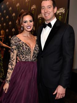 Kyle Busch e la moglie Samantha Busch