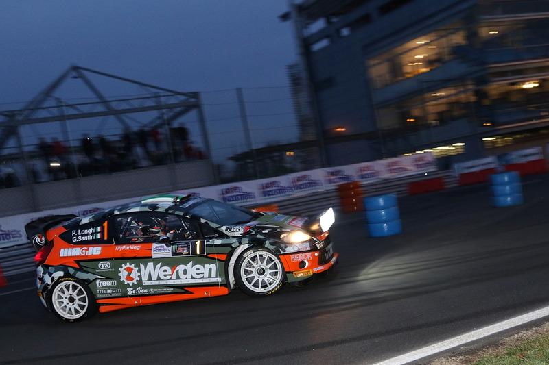 Piero Longhi, Gianmaria Santini, Ford Fiesta WRC