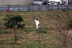 Сход: Хуан-Пабло Монтойя, BMW Williams