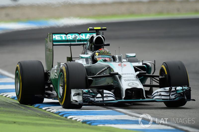 2014: Nico Rosberg, Mercedes AMG F1 W05